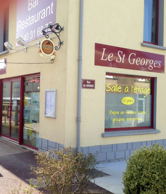 Photos au Restaurant Le St Georges le 19 mars 2015;