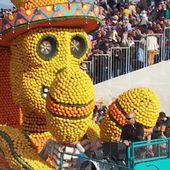 La fête du citron, une parade vitaminée qui illumine Menton - Le journal de 13h | TF1