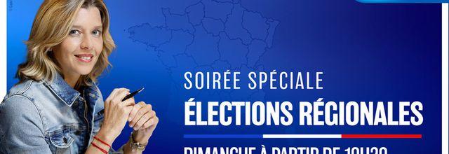 Wendy Bouchard aux commandes d'une soirée spéciale à l'occasion du 1er tour des élections régionales et départementales sur Europe 1