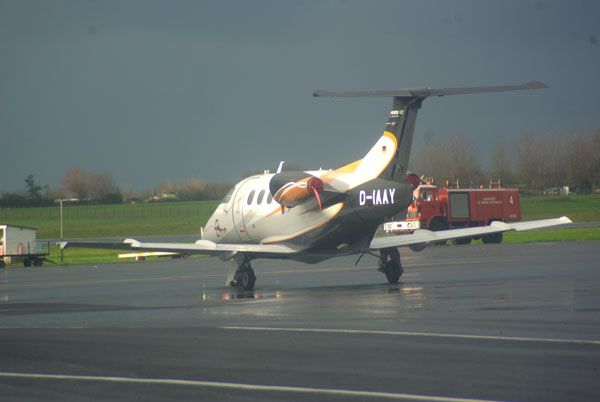 L'Embraer 505 Phenom 100 D-IAAY.