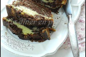 Cake marbré comme un Savane