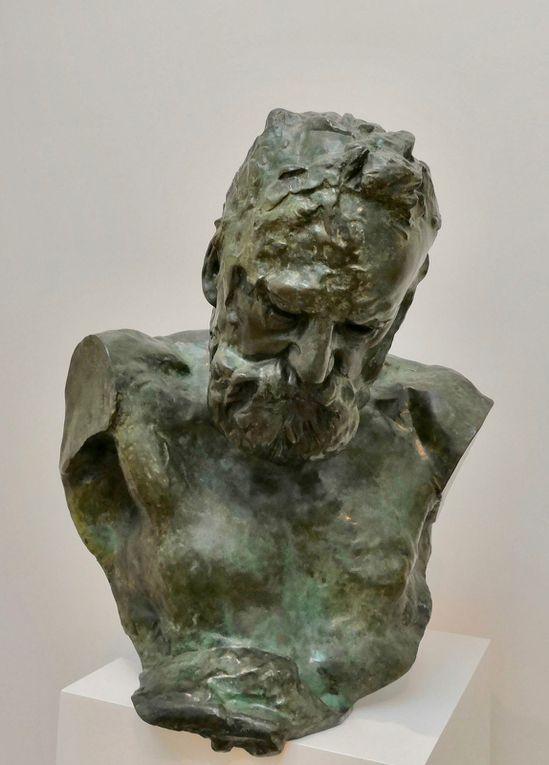 Auguste Rodin, Victor Hugo écoutant les sirènes, 1897-1902, Bronze, fonte Alexis Rudier, 1923