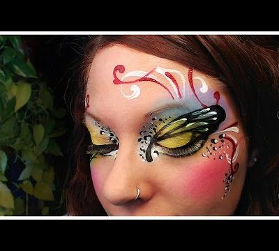 Maquillage papillon...