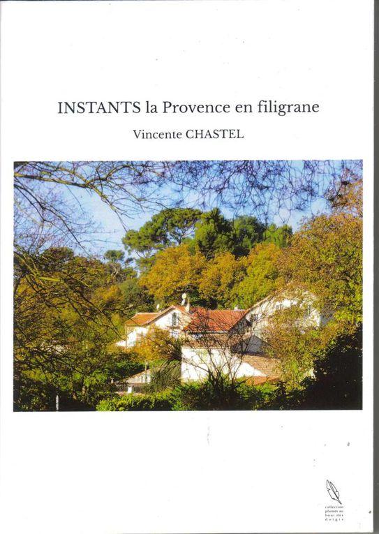 Stand Provence-poésie sur le cours Foch le 14 avril : Denise  BIONDO- Vincente CHASTEL- Danyel CAMOIN