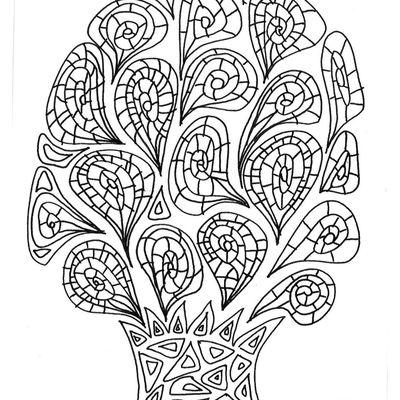 Zen coloriage
