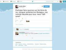 Défi Canal sur Twitter, une nouvelle adhérente qui joue le jeu !
