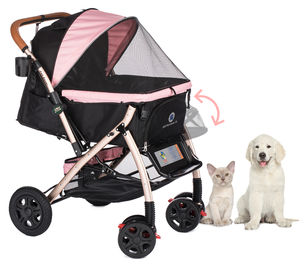 Buy Heavy-Duty Convertible Pet Strollers from a Leading Manufacturer