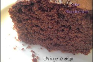 Cake au Chocolat Noir (recette WW)