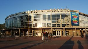 Palais des Sports de Gerlan, Chpt de France Junior 2016