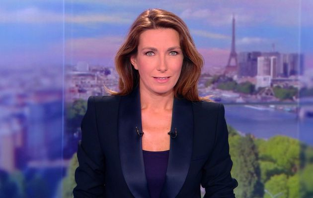 ANNE-CLAIRE COUDRAY @ACCoudray @TF1 @TF1LeJT pour LE 20H WEEK-END #vuesalatele