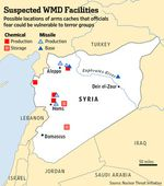 Chemical weapon use in Syria?