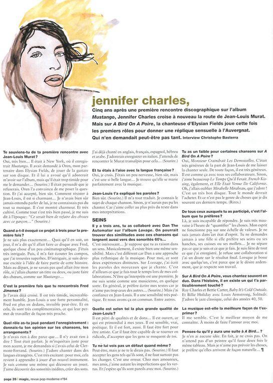 """""""Inter-ViOUS ET MURAT-ET JIMENEZ-CHARLES n°1"""":  Du côté de chez Fred JIMENEZ!"""