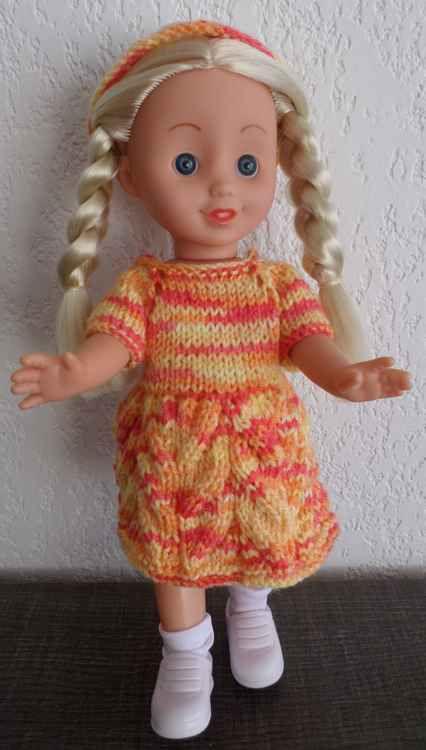 Une nouvelle robe pour Amandine