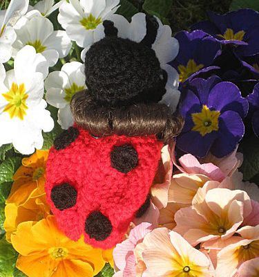 Shelly coccinelle-tuto tricot