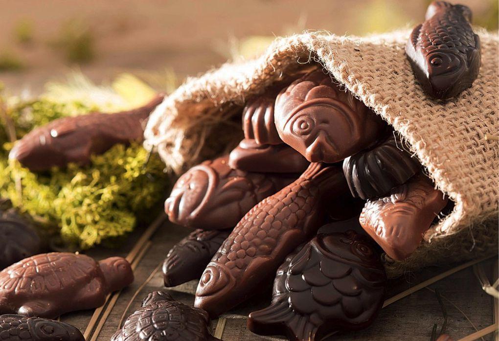 Quand le chocolat célèbre Pâques...