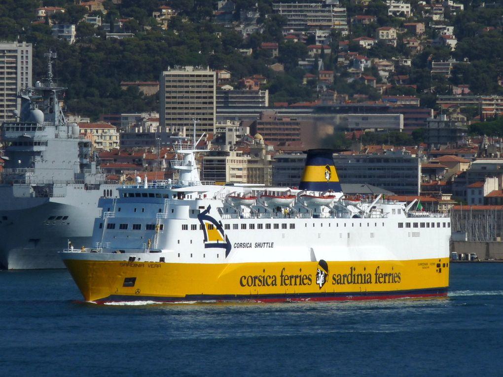 SARDINIA VERA , appareillant du port de  Toulon le  19 aout 2015