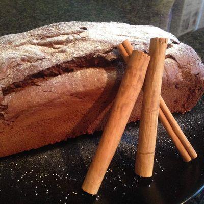 Cake choco-cannelle sans gluten et sans lactose