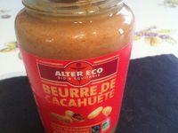 Le beurre de cacahuète de chez Alter Eco un nouveau produit .