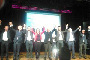 Intervention d'Aymeric Seasseau secrétaire départemental PCF 44 - meeting de la gauche 27 mars 2015