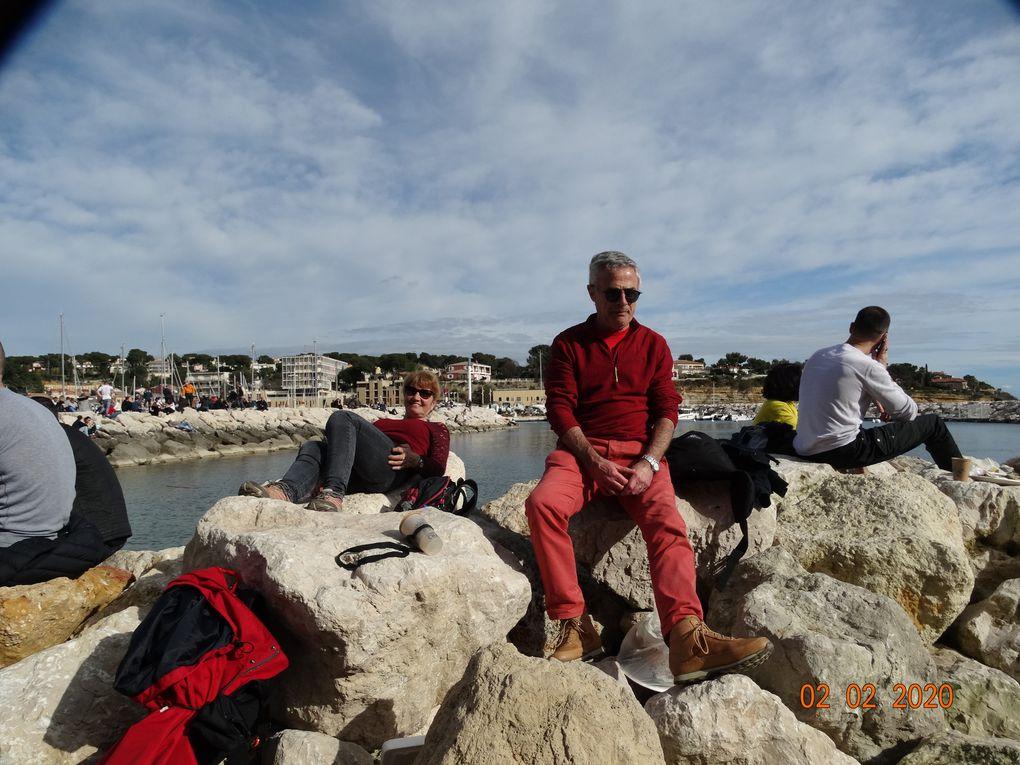 Ma sortie touristique à Carry le Rouet , les oursinades.....