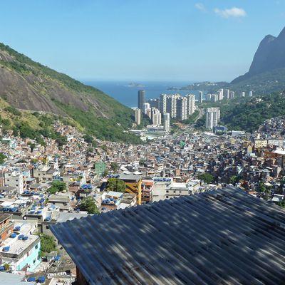 Rio de Janeiro, la favela de Rocinha