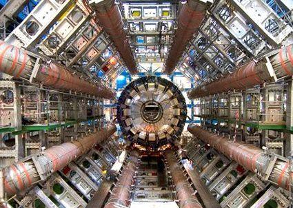 C'était l'accélarateur de particules du CERN