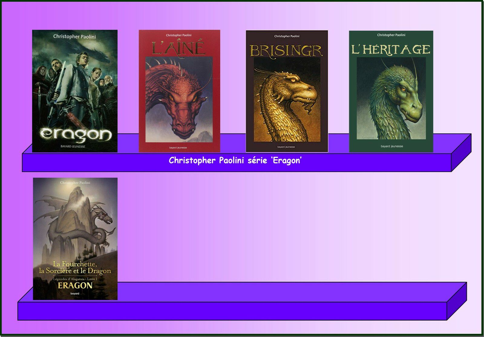 MUSEE PHILIBERT DRAGONNEAU : 3 Collection de Livres sur les Dragons