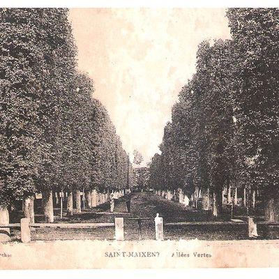Carte postale : Saint Maixent