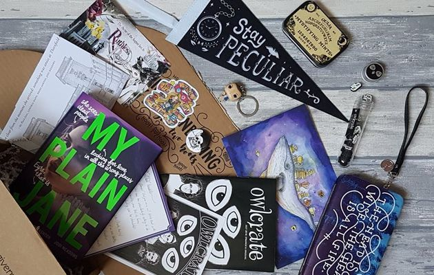 Unboxing OwlCrate (n°12)