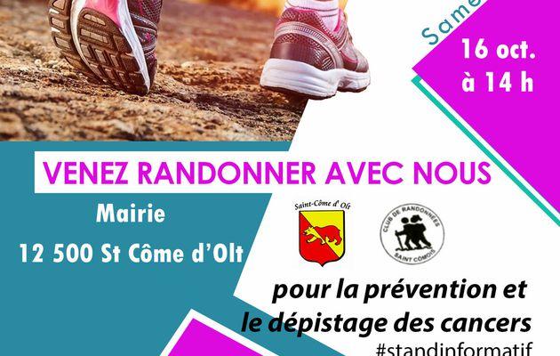 samedi 16 octobre à Saint Côme