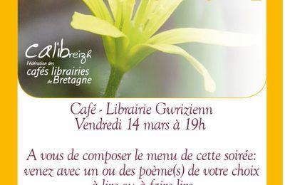 Le Printemps des Poètes fêté à la librairie Gwrizienn
