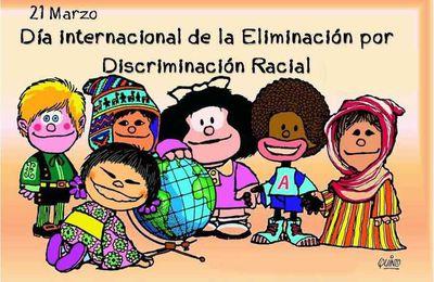 Le 21 mars, c'est la Journée internationale pour l'élimination de la discrimination raciale.