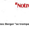 NON Ph. MARTINEZ, Laurent BERGER ne se TROMPE pas : il tente de TROMPER VOLONTAIREMENT les travailleurs !