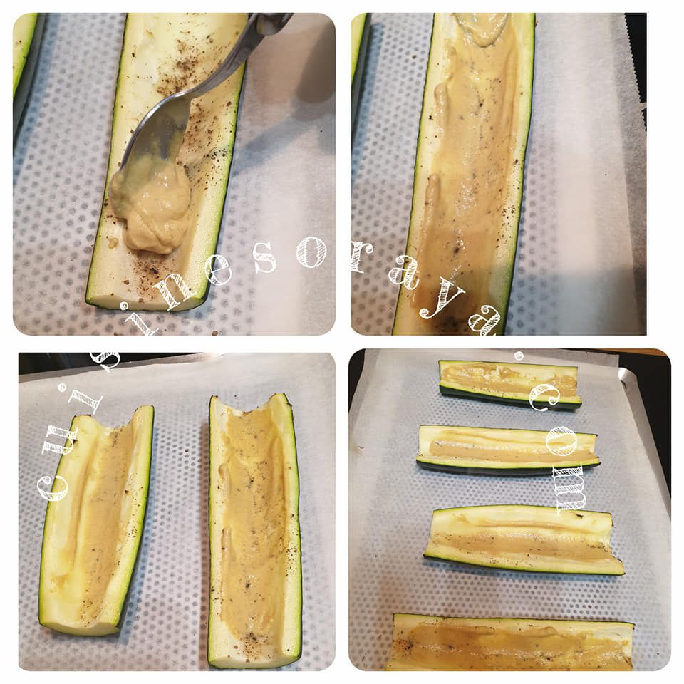 Hot-dog courgette