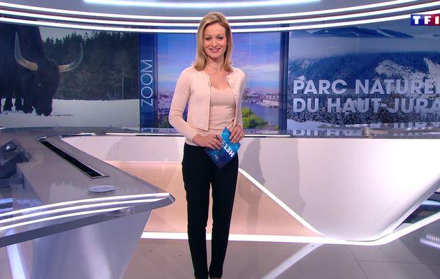 📸12 AUDREY CRESPO-MARA 💄👄💋 @audrey_crespo @TF1 @TF1LeJT pour LE 13H WEEK-END #vuesalatele