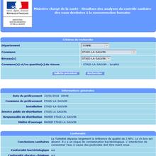FranceTVInfo : encore une histoire d'eau et de pesticides débile