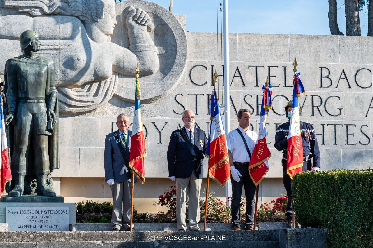 Le 77ème Anniversaire de la Libération et de la Bataille de DOMPAIRE, à MADONNE ET LAMEREY et DOMPAIRE