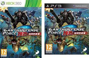Jeux video: Earth Defense Force 2025 de D3publisher est désormais disponible sur Xbox 360 et Playstation 3