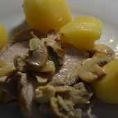 Longe de porc et pommes de terre au cookeo |