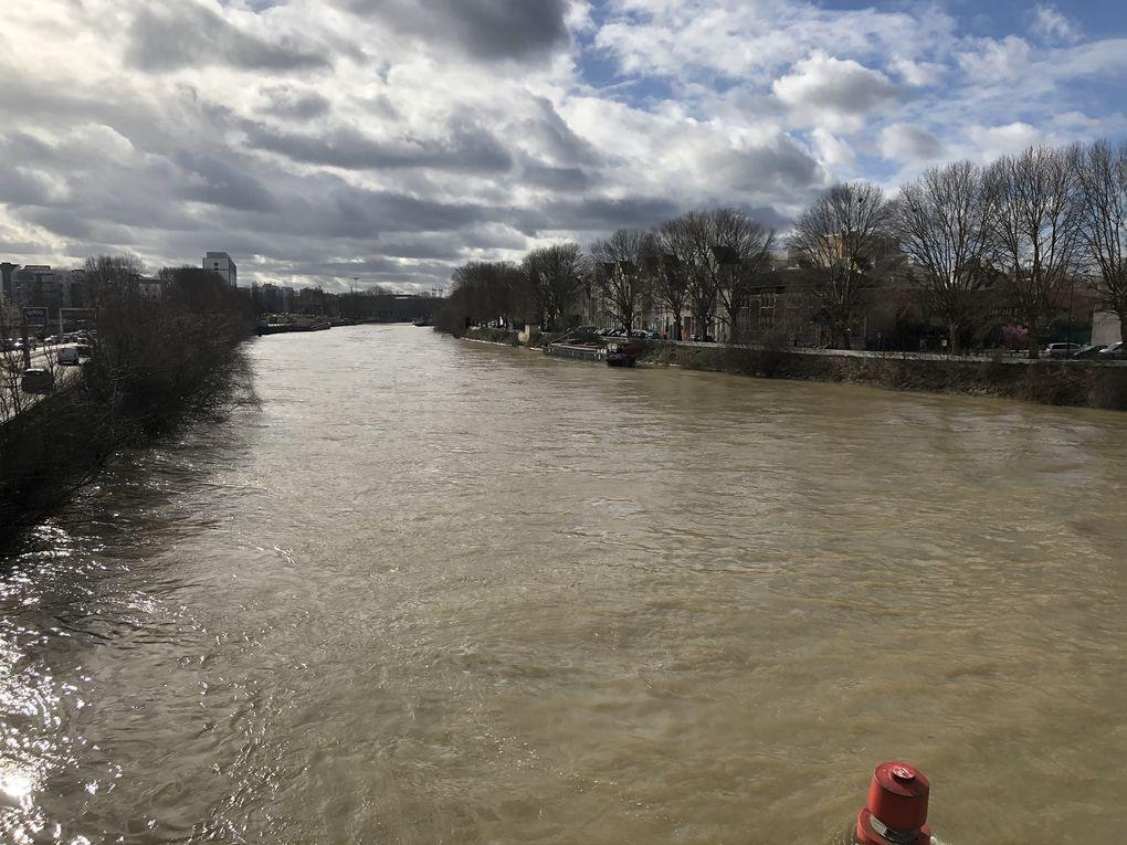 Randonnée aux environs de Saint-Denis - 13,5 km.