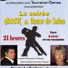 Samedi 4 Novenbre 2017. Soirée Dansante animée par James au Moulinet à Amboise (ex: Bergerie).