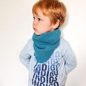 "Tuto tricot : trendy châle version snood ou "" col cowboy "" pour enfant"