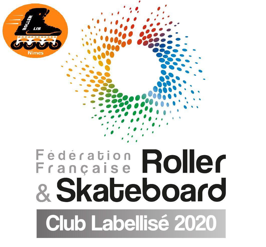 roller Nîmes, club sport, roller lib, plein air, activité extérieure,