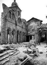 Avant d'être libérée, Saint-Dié sera presque complètement détruite.