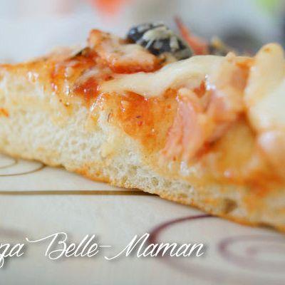 La pizza de Belle-Maman ou focapizza