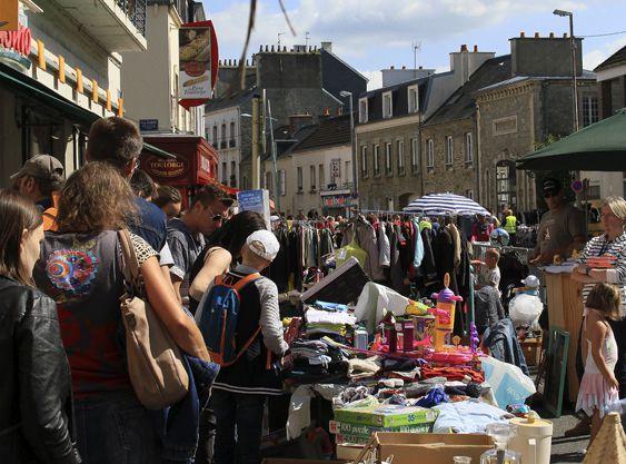 Çà bouge a Cherbourg dans le Cotentin (manche)