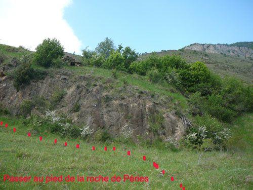 réouverture du chemin de caychax