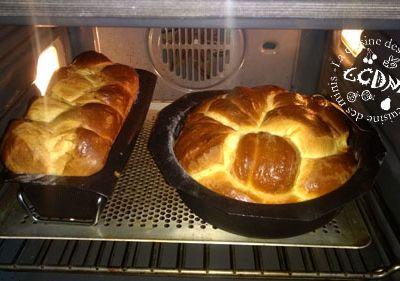 Brioche du boulanger - Thermomix