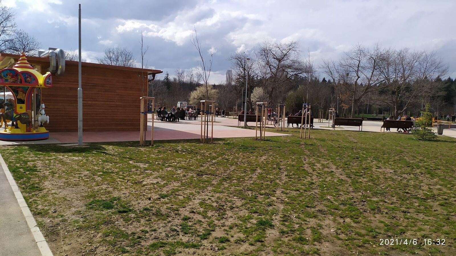 Parc du Nord à Sofia