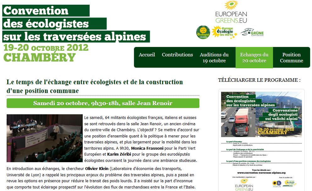 EELV et le Lyon-Turin : une position unanime, indépendante, écologique, éthique, constante, responsable, démocratique…. Vraiment ?